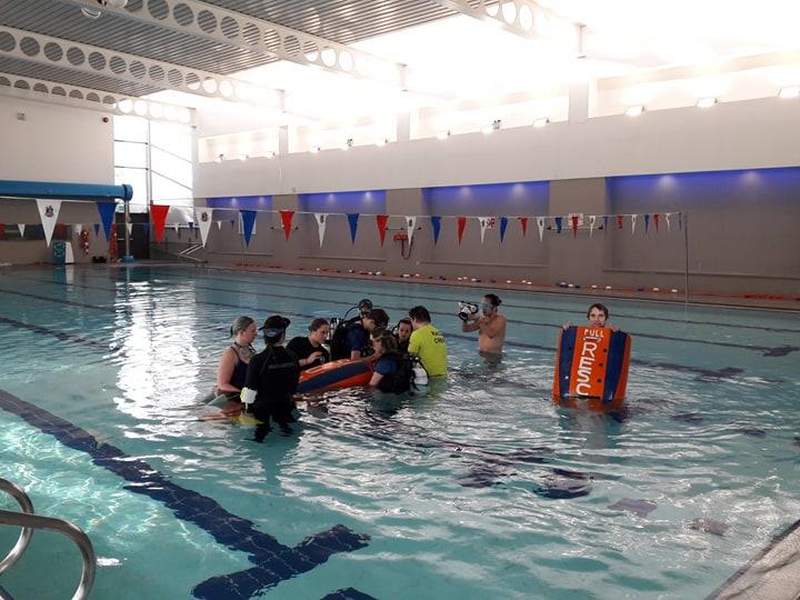 Southampton university human powered submarine is crowdfunding with university of southampton for Southampton university swimming pool